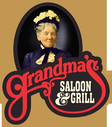restaurant menu kiosk - grandma's saloon and grill